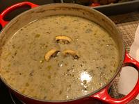 白酒奶油蘑菇濃湯