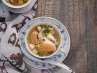 小廚娘❤鮭魚豆腐味噌湯#電鍋