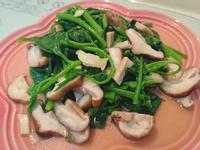 清炒大豆苗香菇