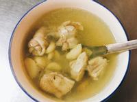 蒜蒜雞湯(電鍋)