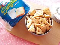 香酥起司餅乾-四樣食材【卡夫起司片】