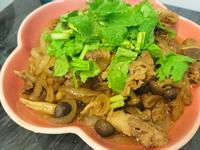 簡易牛肉菇菇壽喜燒