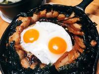 韓式五花肉拌飯