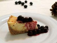重乳酪蛋糕佐藍莓醬