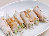 豆芽菜尬豬肉卷(銀芽肉卷)