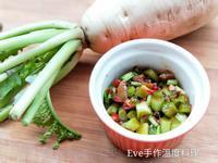 涼拌蘿蔔葉