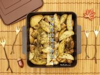 烘烤馬鈴薯杏鮑菇【烤箱料理】