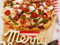 【聖誕節】培根青椒披薩