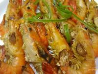 《鹽烤泰國蝦》