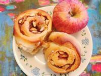 杏仁蘋果麵包卷