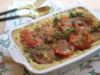 香煎番茄烤洋芋泥