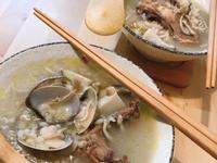 蛤蜊吻仔魚香菇雞粥(萬用鍋)