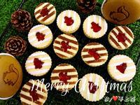《應景聖誕》聖誕節果醬夾心餅乾