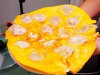 外酥內厚嫩蛋香味十足的 金門蛋煎餃