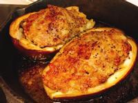 紫圓茄鑲肉
