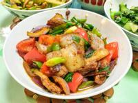 川菜 -重慶家常口味「回鍋肉」 ♪