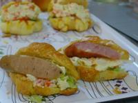 品靚上菜-馬鈴薯沙拉菠蘿包(小可頌)