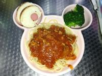 蘑菇肉醬義大利麵