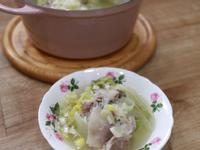 蔥花鹽白菜豬肉鍋