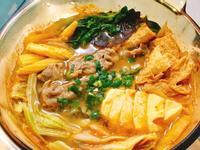泡菜味噌牛肉豆腐鍋