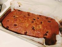 黑糖蔓越莓香蕉蛋糕