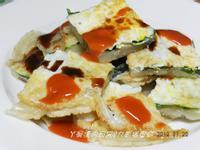 ㄚ曼達的廚房~九層塔蛋餅