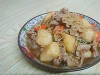下飯便當菜--日式馬鈴薯燉肉