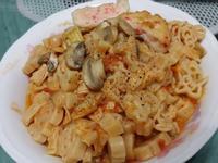 素紅醬義大利麵