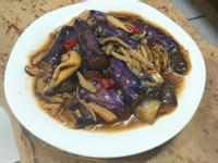下飯菜🍚 塔香雙菇燒茄子