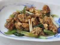香炒炸牡蠣