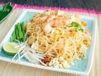 泰式炒河粉Pad Thai (自調醬汁)