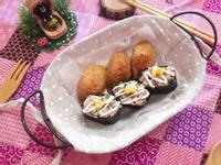 胖睡魚壽司-薯泥蔥花鮪魚壽司
