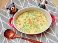 蔬菜蒸蛋(寶寶食譜)