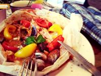美味年菜料理-3法式茄汁(紅醬)紙包魚
