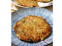紅蘿蔔高麗菜煎餅 簡易。家常菜。晚餐