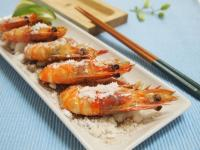鹽烤胡椒蝦