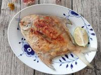 (年菜料理)香煎白鯧魚