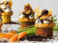 胡蘿蔔馬斯卡彭杯子蛋糕