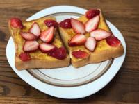 蜂蜜草莓🍓法式吐司🍞