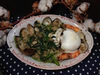 海霧米粉之沙茶海鮮炒米粉