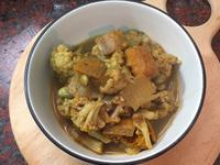 冰霜燉菜 (印度香料燉時蔬)