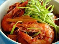 韓式泡菜蝦