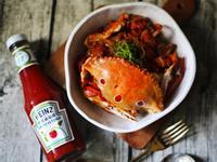 [年菜系列] 番茄醬辣豆瓣炒三點蟹