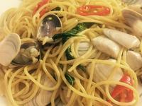 香蒜白酒蛤蜊義大利麵