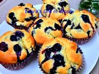 【低糖少油】藍莓馬芬