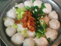 魚丸肉羹清湯