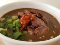 荷蘭鍋料理: 沙茶牛肉麵