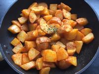 少油低卡 煎薯塊