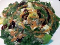 菠菜(蔬菜)蚵仔煎 十分鐘夜市美食