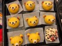 小熊(地瓜)饅頭